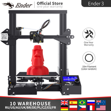 2019 Ender 3/Ender 3X 3D プリンタ DIY キット大サイズプリンタ 3D 継続プリント。磁気プレート Creality 3D エンダー 3