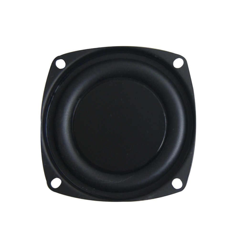 3 インチ偽トランペットホーム耐久性のある軽量膜低音ウーファー旅行スピーカ振動板パッシブ簡単インストール振動