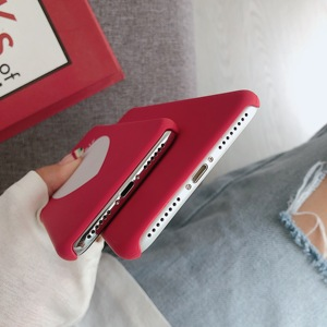 Image 5 - Phone Bag Case Accessories For iPhone X XR XS MAX 6 6s 7 8Plus Luxury Couple Love Heart Eyes Print Fashion Back Cover Capa Coque