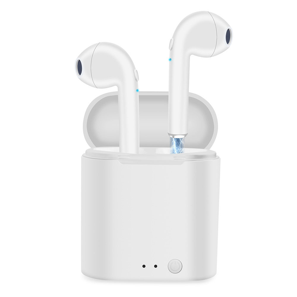 i7s Tws Wireless Bluetooth Earphones Mini Stereo Bass Earphone Earbuds Sport Headset with Charging Box for iPhone Xiaomi Huawei 4