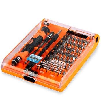 JAKEMY 45 ב 1 מכירה לוהטת דיוק מברג תיבת סט עם כרום ונדיום Bits עבור DIY נייד טלפון נייד Gamepad