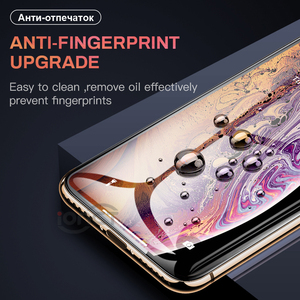 Image 4 - Full Cover 30D Protective Glass For iPhone 7 6 6s X Tempered glass on iPhone 7 8 Plus Xr Xs 11 pro Max X Screen Protector