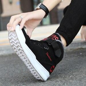 Image 5 - Zapatillas de correr de invierno para hombre, calzado deportivo antideslizante, cómodo, de alta calidad, cálido, para exteriores
