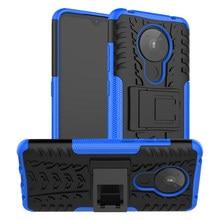 Para capa nokia 5.3 1.3 caso nokia 2.3 2.2 4.2 6.2 7.2 anti-knock resistente armadura suporte silicone telefone pára nokia 3.4 2.4 caso