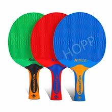 Double Fish Plastic Table Tennis Racket Concave mesh rubber Super light Double Fish Ping Pong Bat racket