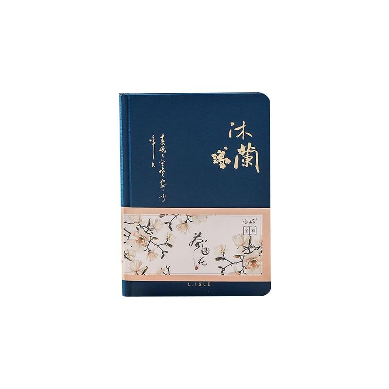 Цветной блокнот с внутренней страницей в китайском стиле, креативный дневник в твердой обложке, книги, Еженедельный планировщик, книга для скрапбукинга, красивый подарок 5