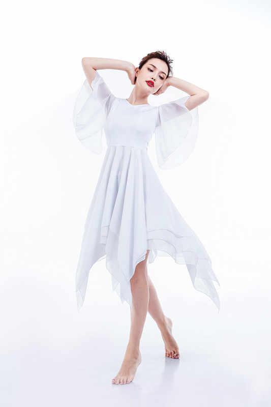 발레 투투 성인 현대 무용 의상 긴 발레 복장 소녀 클래식 청소년 발레 댄스 복장 무료 배송 신규