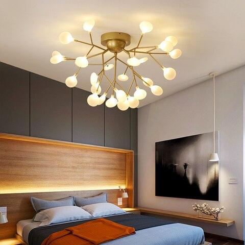 luzes de teto modernas para sala