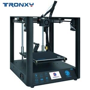 TRONXY D01 3D Printer Machine Industrial linear guide rail Silent design Titan Extruder High-precision 3d printing impressora 3d(China)