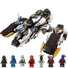 Novo 1146 pçs ninja ultra stealth raider blocos de construção ninjatoes 70595 tijolos brinquedos para crianças presente