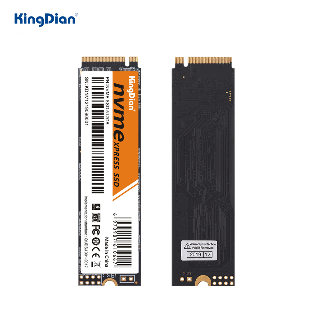 KingDian M.2 Ssd M2 512GB PCIe NVME SSD 1TB 256GB 128GB Solid State Disk Internal Hard Drive M.2 2280 For Laptop Desktop MSI