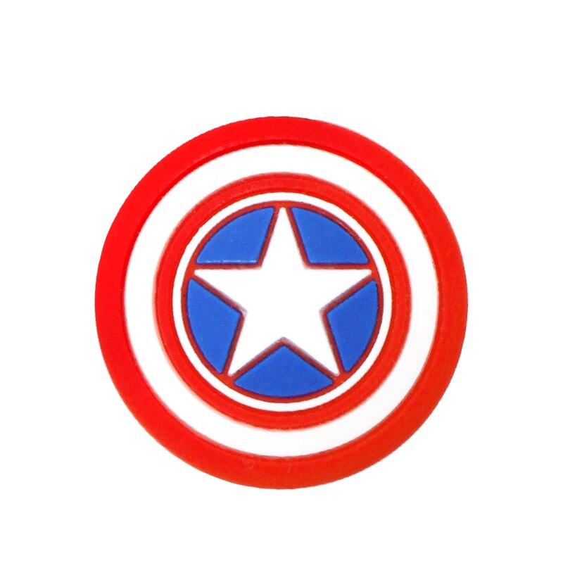 Для Pulseira Mi band 2 3 4 ремень фиксирующий обруч петля пряжка фиксатора держатель для xiaomi band3 4 наручные часы аксессуары - Цвет: Captain America