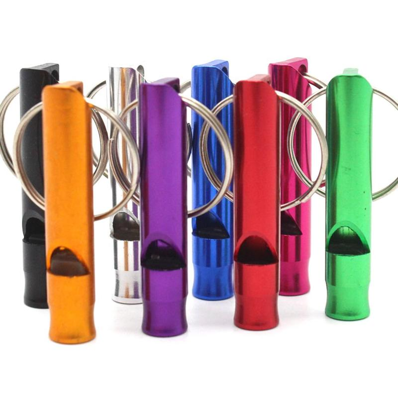 Misterolina 1PC Puppy Dog Whistle Animal Training Ultrasonic Obedience Sound Whistles Repeller Training Keychain Pet Supplies(China)