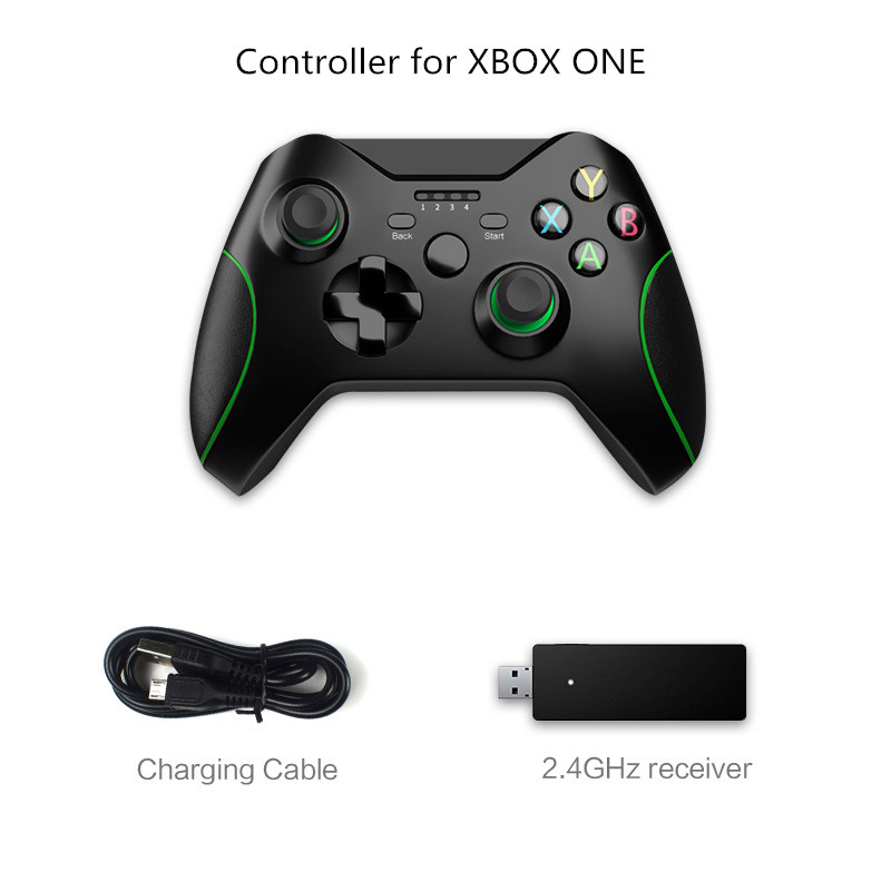 Gamepad Joystick Controle 2.4G <font><b>Wireless</b></font> <font><b>Controller</b></font> For Xbox One Console For <font><b>PC</b></font> For Android Smart Phone Gamepad Joystick Joypad image