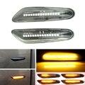Последовательный мигающий светодиодный указатель поворота, боковой указатель поворота для BMW X3 E83 X1 E84 X5 X53 E60 E61 E46 E81 E82 E90 E92 E87 E88