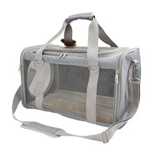 Pet Carrier Breathable Handbag Travel Tote for Puppy Dog Cat Shoulder Bag Mesh Sling Carry Pack