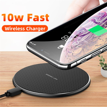 10W Fast Wireless Charger For Samsung Galaxy S10 S9 S8 USB Qi Quick Charge 3.0 Charging Pad for iPhone 11 Pro XS Max XR X 8 Plus 5