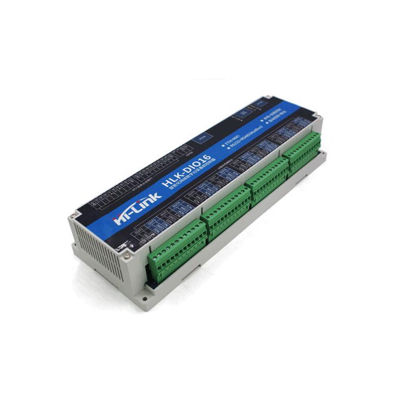 16 Channel Digital IO WiFi Relay Module/wireless Remote Control LAN WAN Support Modbus Smart Home Relay Switch