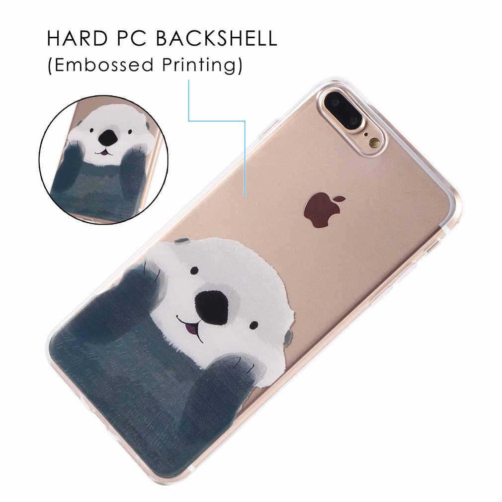 Arvin Ốp Lưng Dành Cho iPhone 6 S Mềm Mại Trong Suốt Bảo Vệ TPU Cho iPhone 7 Plus Trong Suốt Ốp Lưng Điện Thoại iPhone 7