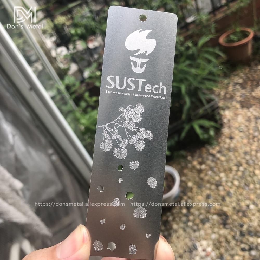 Stainless Steel Bookmark Custom Hollow Metal Bookmark Design Personalized Bookmark Customization