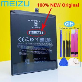 Meizu 100% Original Meizu MX6 Phone BT65M 3060mAh New High Quality Battery +Tracking Number meizu high quality battery 100