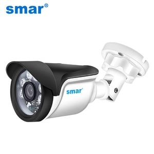 Image 1 - Smar אבטחת CCTV 720P 1080P AHD מצלמה חיצוני עמיד למים Bullet מצלמות יום ולילה מעקב HD 3.6mm עדשת IR לחתוך