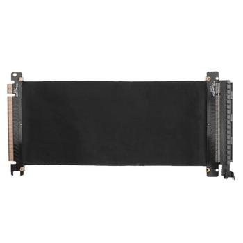 PCI Express 16x Flexible Cable Card Extension Port Adapter Riser Card 1 Slot PCIe X16 Riser for 1U 2U 3U Server IPC Chassis