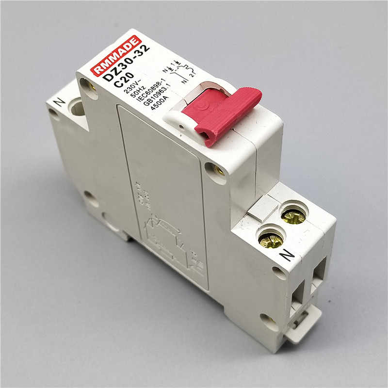 DZ30-32 TPN DPN 1P+N Mini Circuit breaker MCB 10A,16A,20A,25A,32A Mini Circuit Breaker Cutout Miniature Household Air Switch