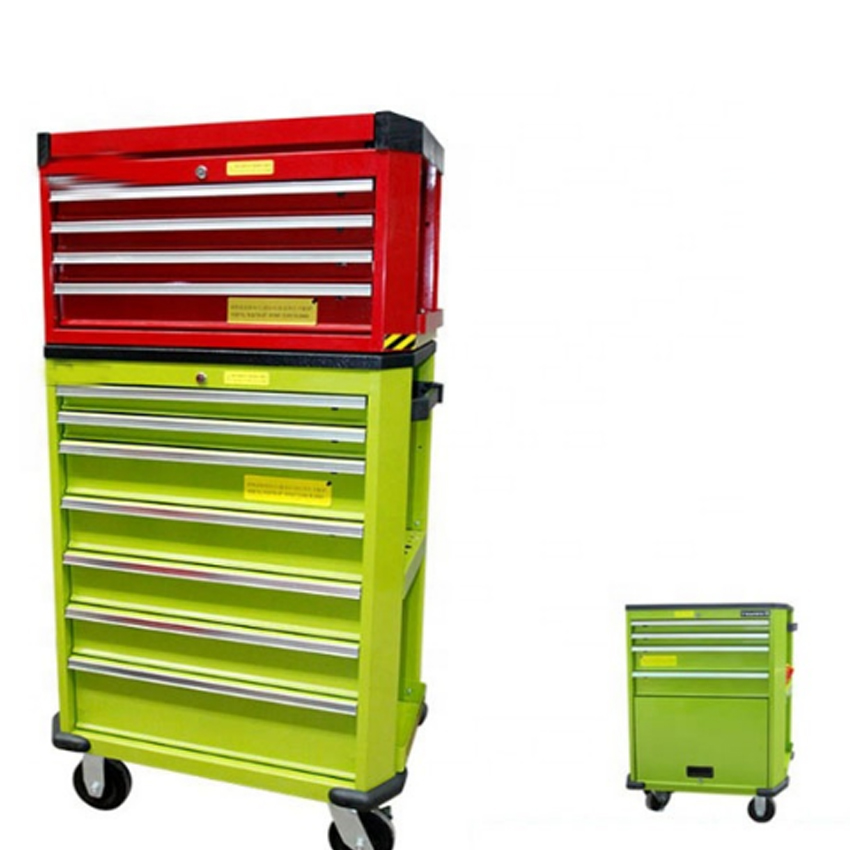 Шкаф для хранения инструмента с выдвижными ящиками с ключом система блокировки Организатор панели инструментов