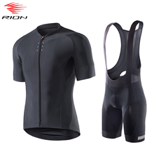 Bike Jersey Shorts Bicycle-Gel-Pad RION Men Summer MTB Ropa-Ciclismo Hombre