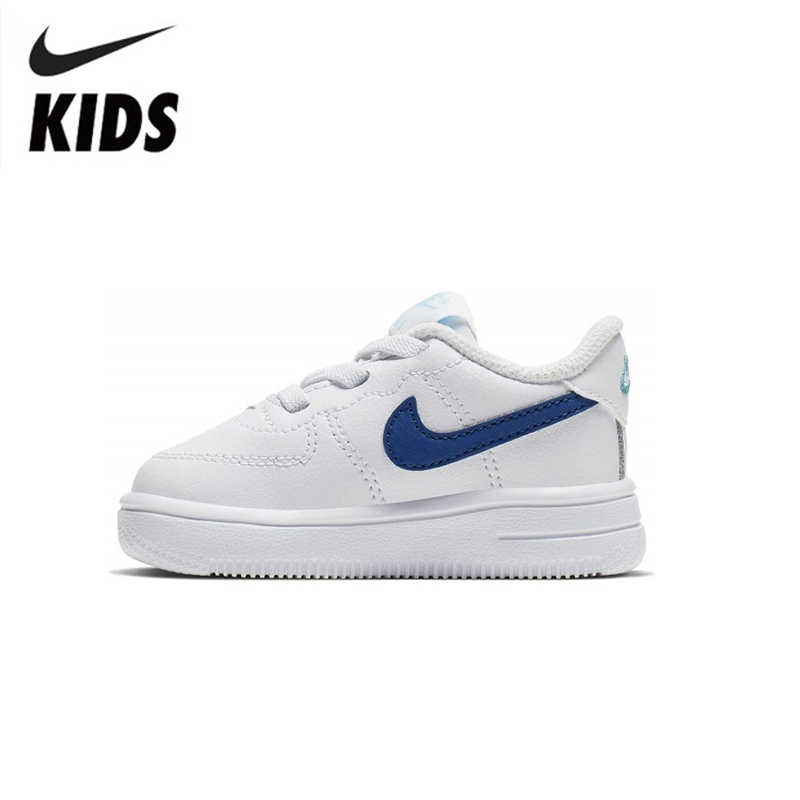 Nike Air Force 1 Original Kinder Schuhe Atmungsaktive Kinder Skateboard Schuhe Outdoor Sport Turnschuhe #905220-102
