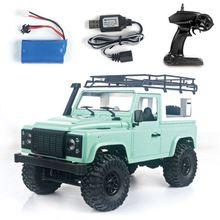 1/12 RC Rock Crawler D90 2.4G 4WD Car Remote Control Truck Toys Defender 634F