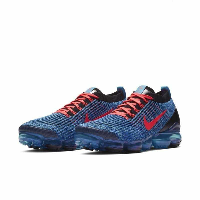 Oryginalny prawdziwe Nike FLYKNIT VAPORMAX powietrza 3 męskie buty do biegania klasyczne na zewnątrz buty sportowe oddychająca komfort AJ6900-401