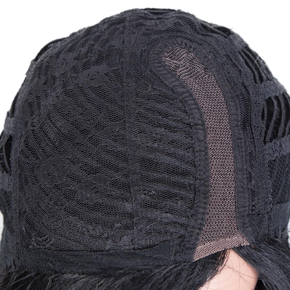 mulheres destaque colorido perucas cabelo humano 05