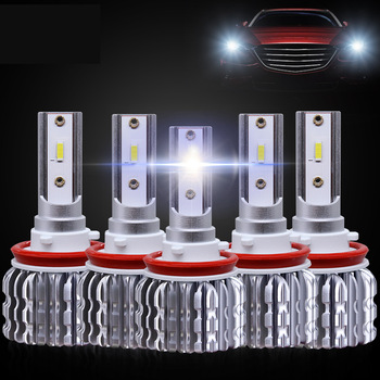 FUXUAN K1 C6 lamp Unique Chip Spotlight H7 H4 H13 9005Led Headlight auto Car Light hb4 9006 H8 H11 hb3 9012 HIR2 led bulb 12000L image