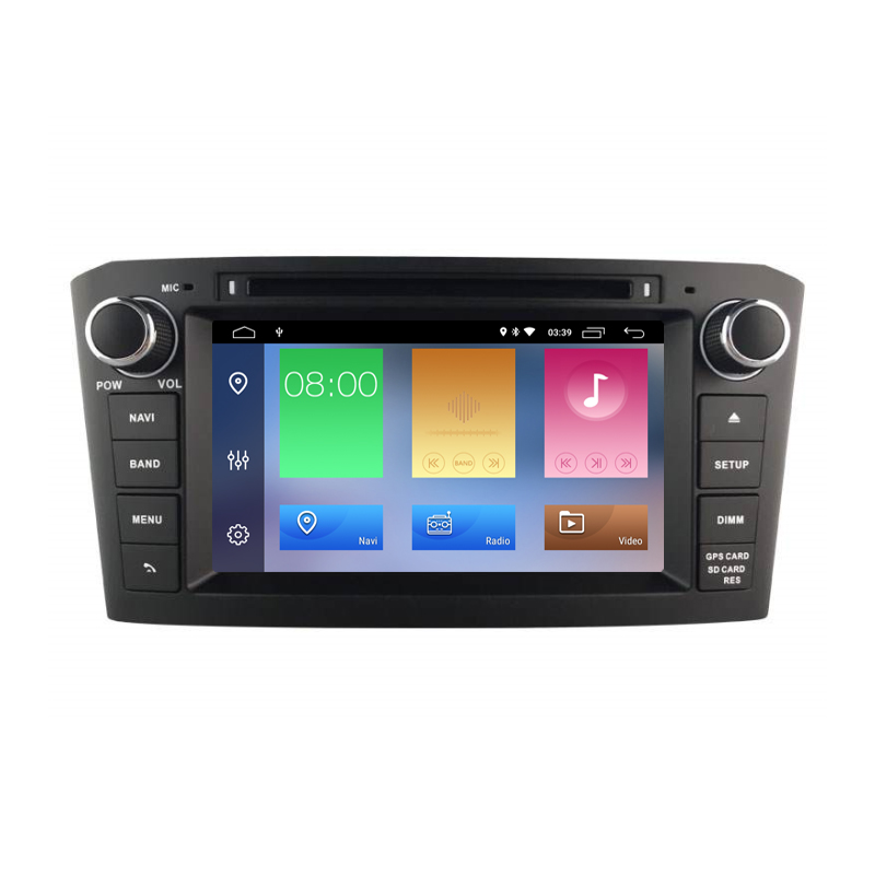 Android 6.0 Car DVD Player for Toyota Avensis 2002 2003 2004 2005 2006 2007 2008 T250 Car GPS Navigation Stereo multimedia Unit image