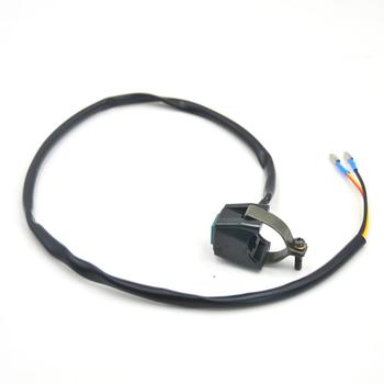 Handle Switch Square Button Electric Start Flameout Horn Switch Off-road Vehicle Motorcycle Reinstall Accessories image
