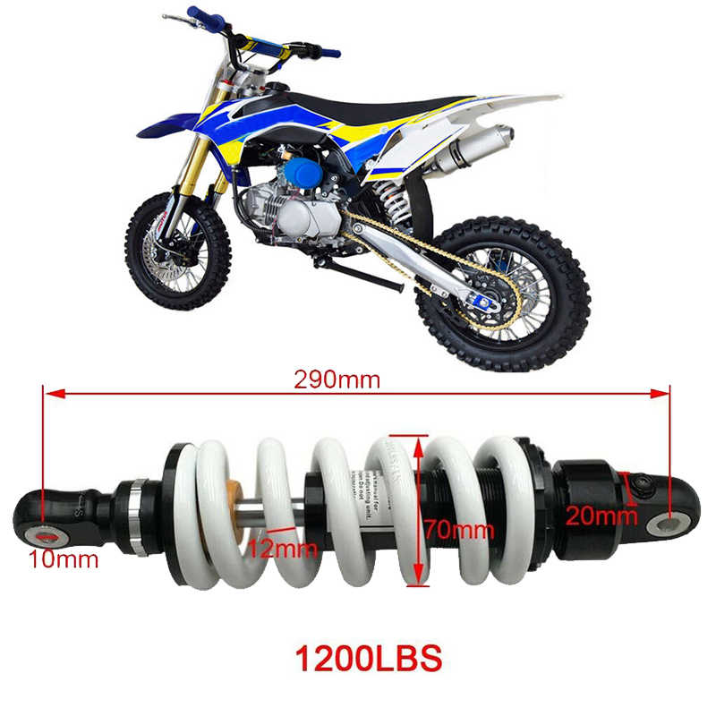 X-PRO 300mm Rear Shock Absorber for 110cc 125cc 150cc ATVs