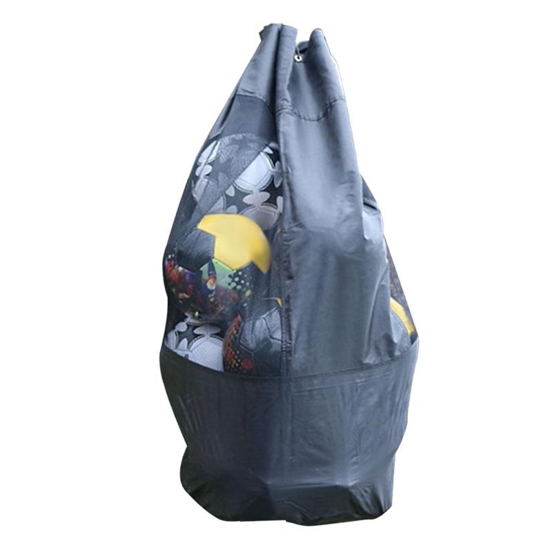 48 inch Outdoor Basketball Football Grid Storage Bag Extra Large Net Drawstring Carrying Bag Single Shoulder Ball Storage Bag Su