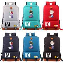 Cartoon Anime My Hero Academia Deku Boy Girl Book School bag Women Bagpack Teenagers Schoolbags Men Student Patchwork Backpack(China)