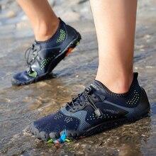 Men shoes Women Outdoor Aqua Swimming Footwear Seaside Walking Sapatilhas Cheaper Breathable Quick dry Beach Five fingers Shoes