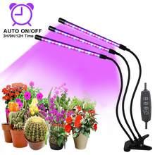 Goodland-Luz led de espectro completo protector de cultivo, lámpara fito con control para plantas y flores de interior