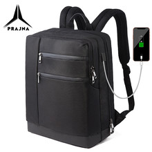 Business Backpack Laptop Fit 15.6 Inch Waterproof Oxford Large Travel Bag Anti-theft Design Bagpack Male Mochila Рюкзак PRAJNA(China)