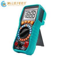 Mileseey NCV Digital Multimeter Auto Ranging AC/DC spannung meter-licht Zurück licht Großen Bildschirm