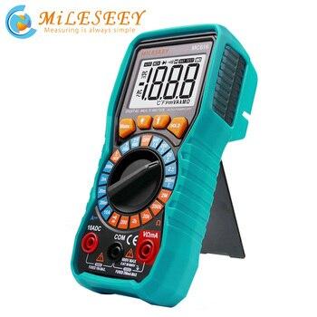 Multimètre numérique Mileseey NCV multimètre automatique tension ca/cc compteur Flash lumière arrière grand écran Multimètres     -