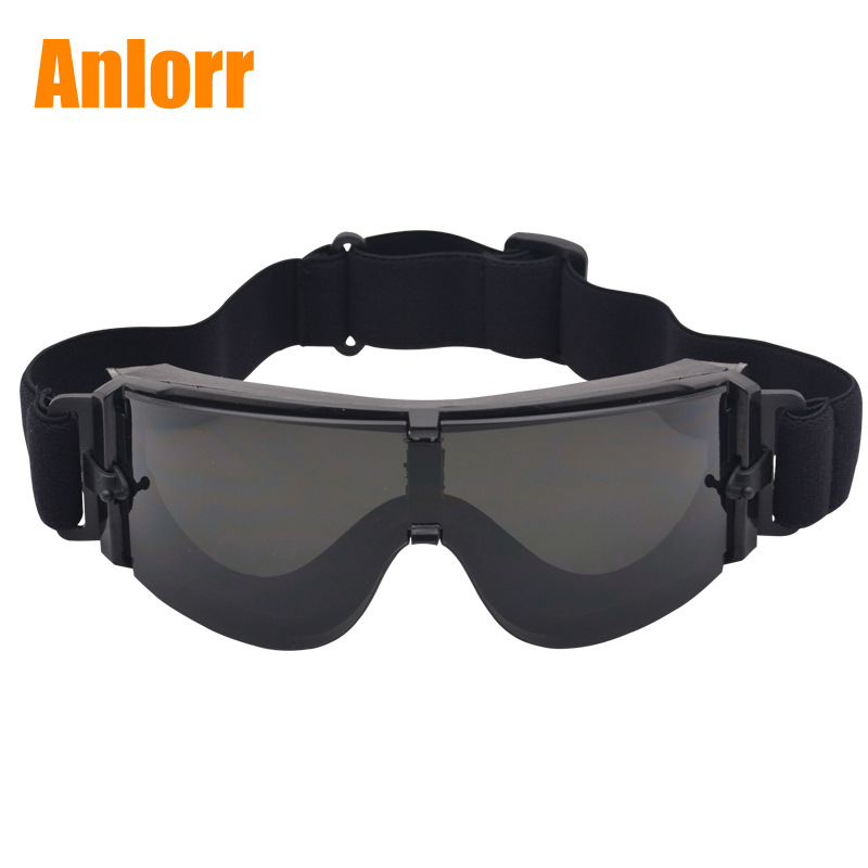 Currently Available Wholesale X800 Army Fans Glasses Tactical Goggles Impact Resistance Eye-protection Goggles Special Forces Eq