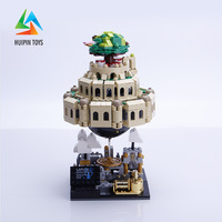 1179Pcs XingBao Building Blocks Toys XB 05001 Moc Laputa: Castle in the Sky Bricks With Music Box Gift For Children 4PX to DE
