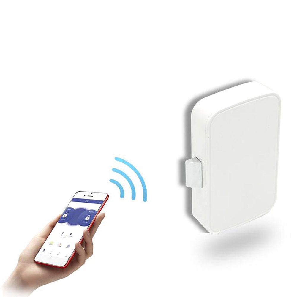 Invisible Keyless Bluetooth App Smart Cabinet Lock / Remote Control  by Cell Phone/No need to Punch