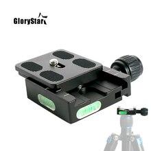 Tripod ball head mount adapter pu50 RRS quick shot quick release clip plate clamp for Arca swiss dslr camera ballhead QR50 PU 50