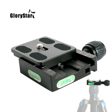 三脚ボールヘッドマウントアダプタ pu50 rrs クイックショットクイックリリースクリッププレートアルカスイスデジタル一眼レフカメラ用ボールヘッド QR50 pu 50